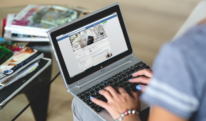 Facebook with online booking