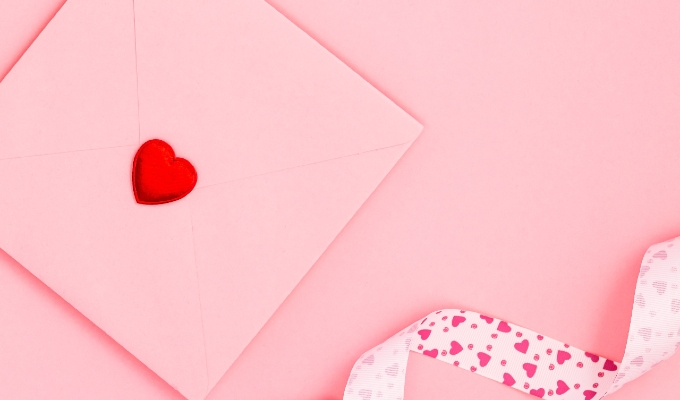 Promote gift vouchers for Valentine's Day