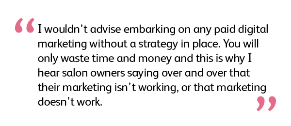 Quote: don't do digital advertising without a strategy