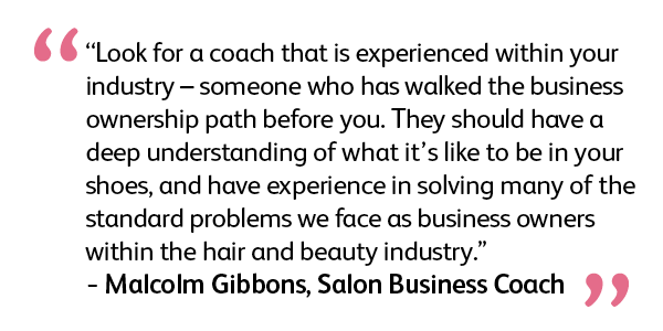 why hire a business coach quote